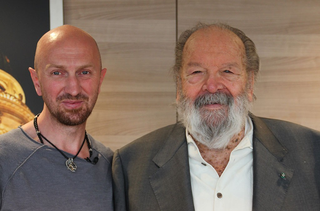 Andy meets Bud Spencer
