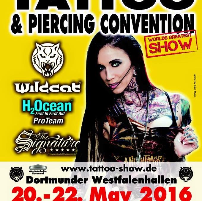 20. – 22.05.2016 Dortmunder Tattoo und Piercing Convention
