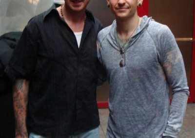Andy Engel & Chester Bennington
