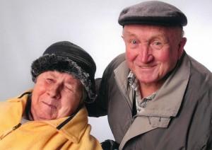 Andys Eltern Fritz und Rosa Engel
