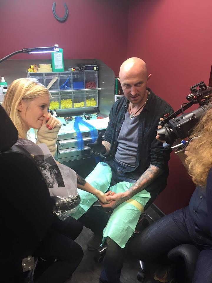 Das team von spiegel tv reportage zu gast im studio for Spiegel tv reportage 2016
