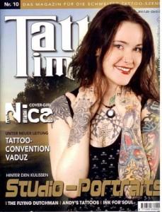 Andy im Tattoo Time Magazin