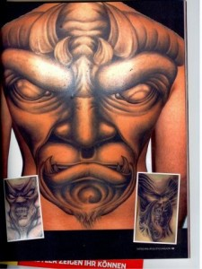 Andy im TATTOO theultimateguide Magazin