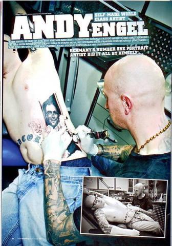 Andy im Skin Deep Magazin