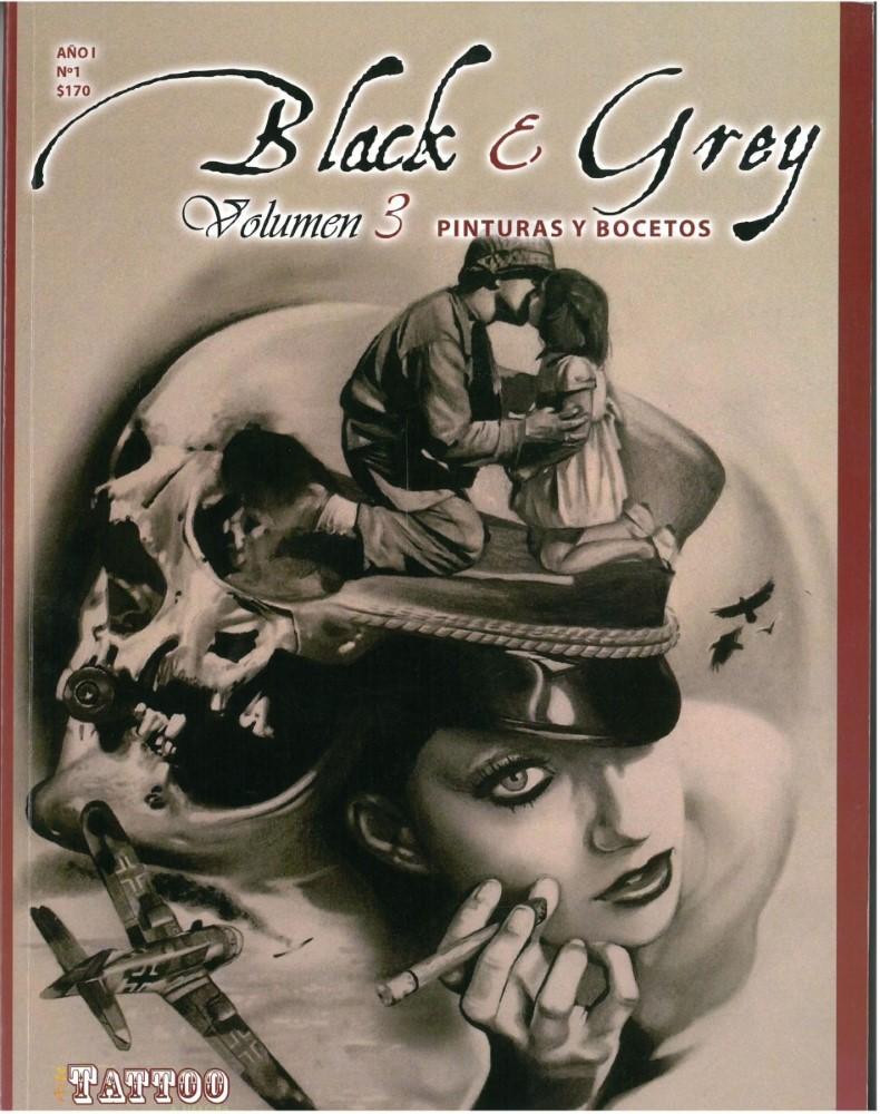 B�cher - Ver�ffentlichungen - BLACK & GREY PINTURAS Y BOCETOS - Vol.3 No. 1