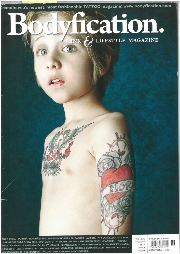BODYFICATION INK & LIFESTYLE MAGAZINE - Ausgabe 6 - 2010