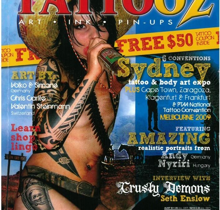 CUSTOM TATTOOZ – Ausgabe 7 – Juli-August 2009