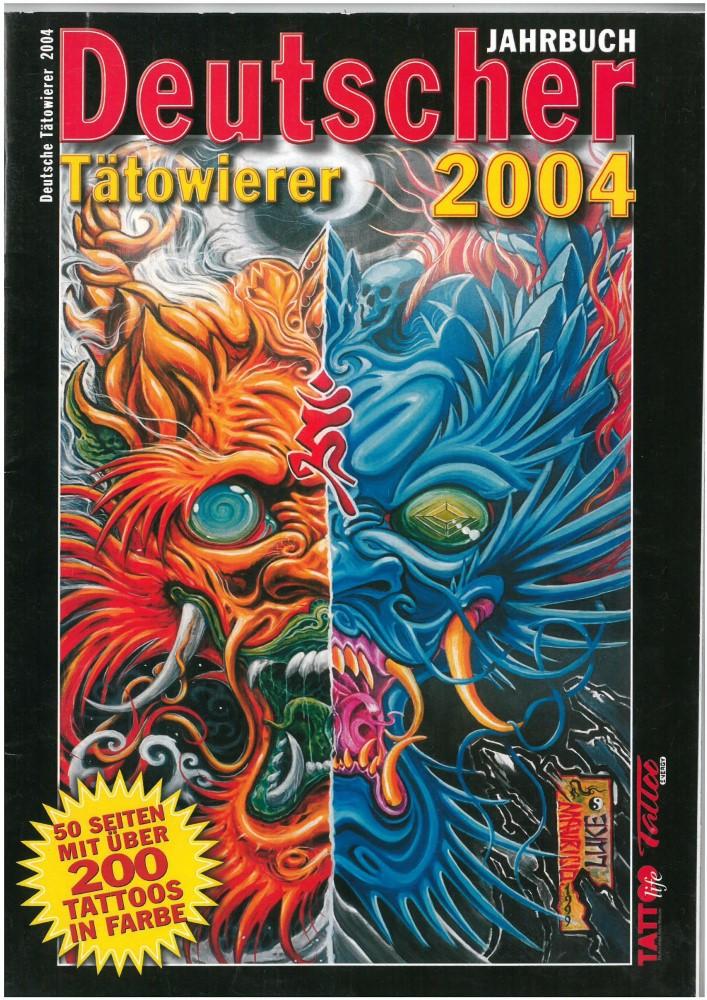 B�cher - Ver�ffentlichungen - JAHRBUCH DEUTSCHER TÄTOWIERER 2004