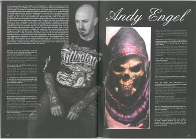 ROCKING INK Tattoo&Muziekmagazine - Ausgabe 3 - März-April 2014