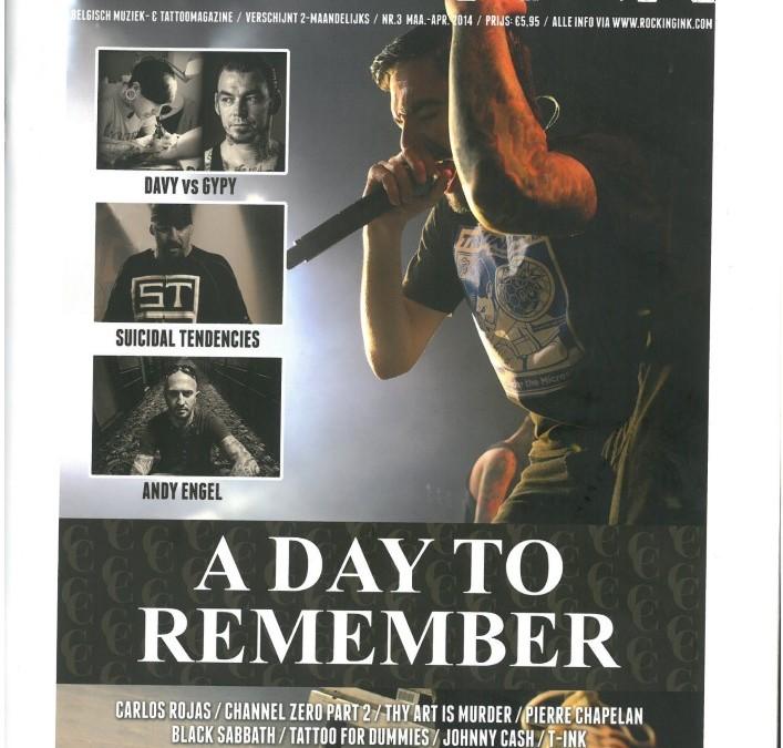 ROCKING INK Tattoo&Muziekmagazine – Ausgabe 3 – März-April 2014