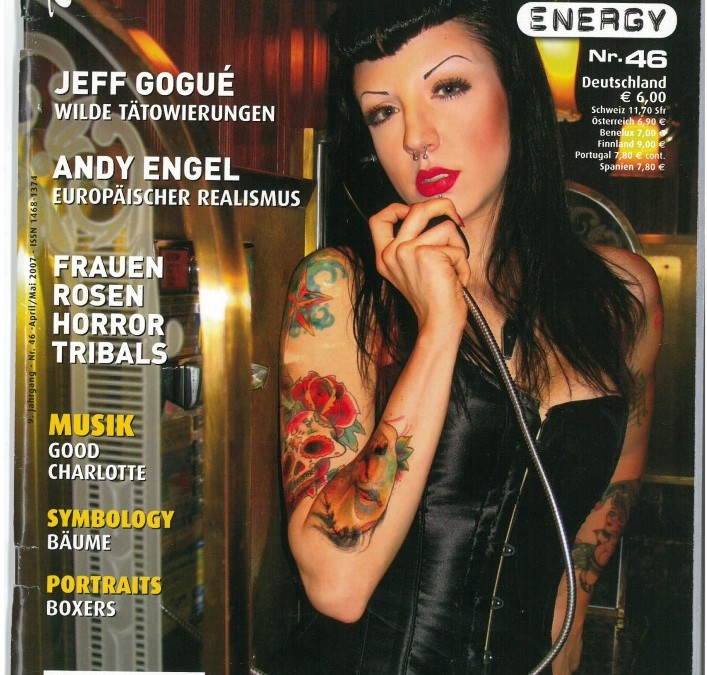 TATTOO ENERGY – Ausgabe 46 – April_Mai 2007