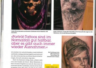 Tätowier Magazin - Ausgabe 220 - Juni 2014