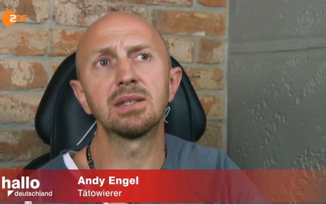 """Hilfe nach Brustkrebs OP – Andy Engel in """"Hallo Deutschland"""" ZDF"""