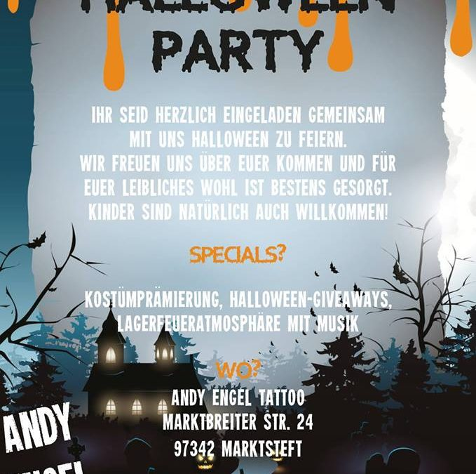 Halloween Party presented by Andy Engel Tattoo