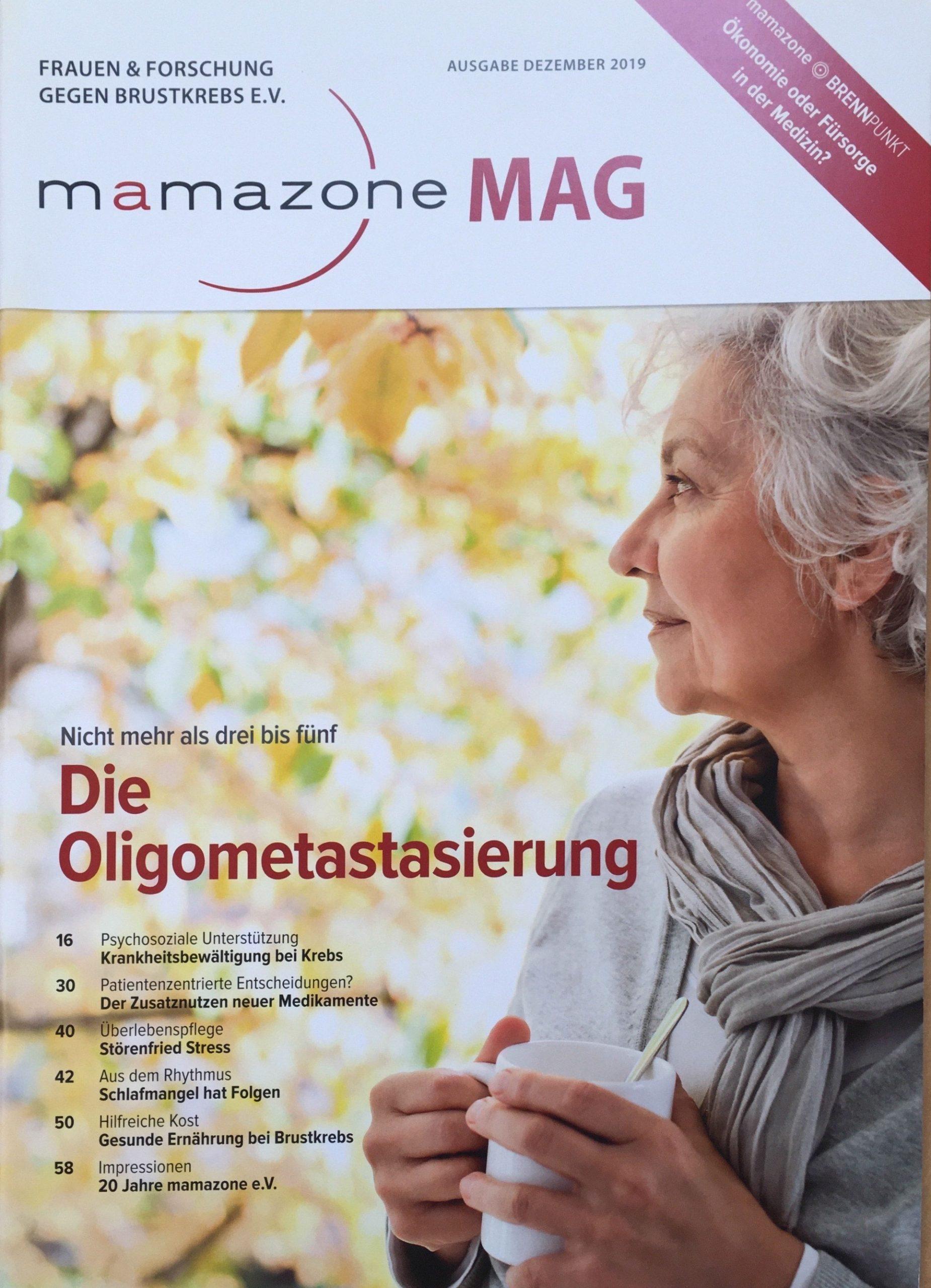 mamazone MAG Ausgabe Dezember 2019